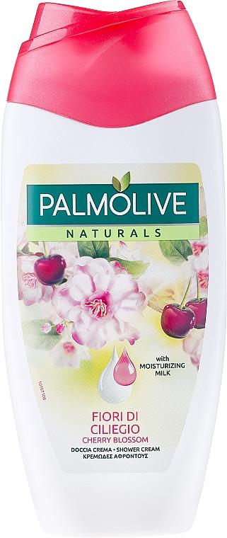 Duschcreme mit Kirschblütenextrakt und feuchtigkeitsspendende Milch - Palmolive Naturel Cherry Blossom Shower Gel