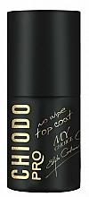 Düfte, Parfümerie und Kosmetik Hybrid-Nagelüberlack mit Glanz-Effekt - Chiodo Pro Top EG No Wipe