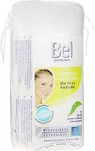Düfte, Parfümerie und Kosmetik Kosmetische Wattepads mit Aloe Vera - Bel Premium Oval Pads with Aloe Vera