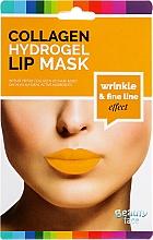 Düfte, Parfümerie und Kosmetik Kollagen-Hydrogel-Lippenmaske mit Glättungseffekt - Beauty Face Collagen Hydrogel Lip Mask Wrinkle Smooth Effect