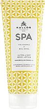 Düfte, Parfümerie und Kosmetik Ultraweiche Körperlotion mit brasilianischem Orangenöl - Kallos Cosmetics Spa Ultra Light Body Lotion