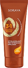 Düfte, Parfümerie und Kosmetik Bräunungsbeschleuniger mit Kakaobutter - Soraya 3w1 Express Bronze Cacao Tan Activator