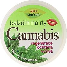 Düfte, Parfümerie und Kosmetik Lippenbalsam mit Hanföl, Vitamin E und UV-Schutz - Bione Cosmetics Cannabis Lip Balm with UV Filter and Vitamin E