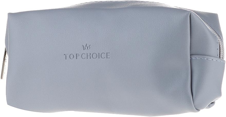 Lederkosmetiktasche hellblau 96945 - Top Choice — Bild N1