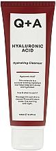 Düfte, Parfümerie und Kosmetik Reinigendes und feuchtigkeitsspendendes Gesichtsgel mit Hyaluronsäure - Q+A Hyaluronic Acid Hydrating Cleanser