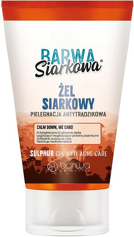 Antibakterielles Gesichtsreinigungsgel mit Schwefel - Barwa Anti-Acne Sulfuric Gel