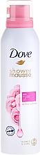 Düfte, Parfümerie und Kosmetik Duschschaum mit Rosenöl - Dove Rose Oil Shower Mousse