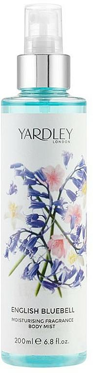 Yardley English Bluebell Contemporary Edition - Feuchtigkeitsspendender parfümierter Körpernebel