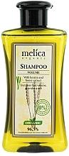 Düfte, Parfümerie und Kosmetik Shampoo für mehr Volumen mit Keratin- und Honigextrakt - Melica Organic Volume Shampoo