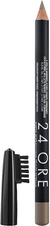 Augenbrauenstift mit Bürste - Deborah 24Ore Eyebrow Pencil