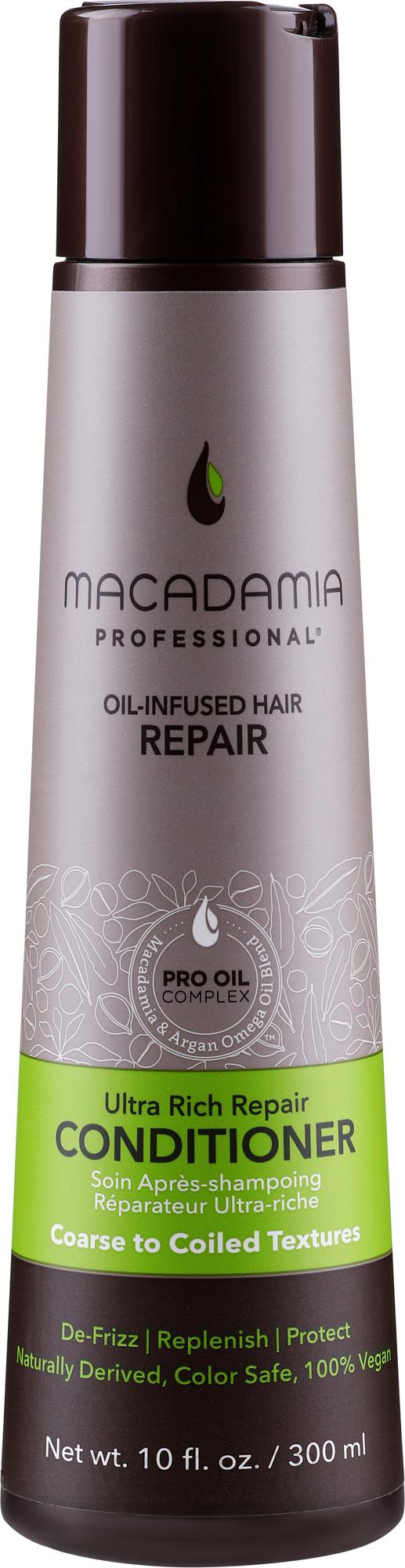 Conditioner mit Macadamia und Argan Omega - Macadamia Professional Ultra Rich Repair Conditioner — Bild 300 ml