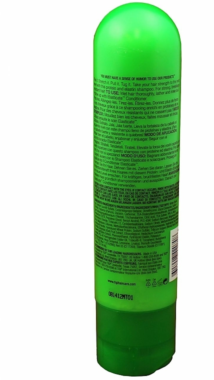 Nährendes Shampoo - Tigi Bed Head Elasticate Strengthening Shampoo — Bild N3