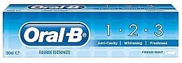 Düfte, Parfümerie und Kosmetik Zahnpasta 1-2-3 Fresh Mint - Oral B 1-2-3 Fresh Mint Toothpaste