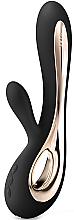 Düfte, Parfümerie und Kosmetik 2in1 G-Punkt- und Klitorisvibrator für doppeltes Vergnügen schwarz - Lelo Soraya 2 Black