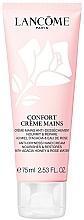 Düfte, Parfümerie und Kosmetik Nährende regenerierende und feuchtigkeitsspendende Handcreme mit Akazienhonig und Rosenwasser - Lancome Confort