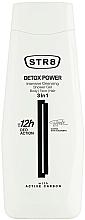 Düfte, Parfümerie und Kosmetik Duschgel zur intensiven Körper-, Gesichts- und Haarreinigung 3in1 - STR8 Detox Power Intensive Cleansing Shower Gel