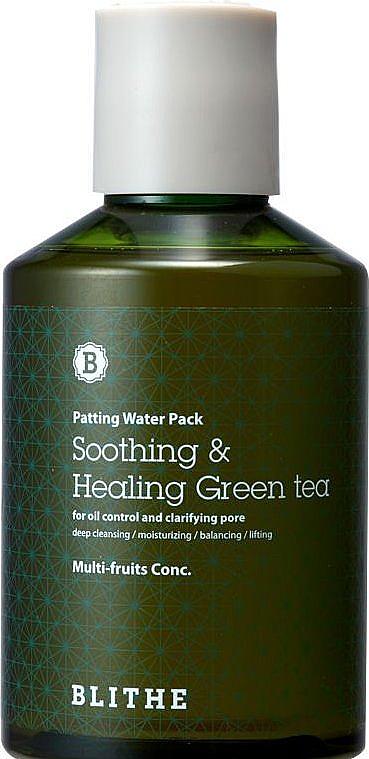 Gesichtsmaske mit Milchsäure und Extrakten aus grünem Tee - Blithe Patting Splash Mask Soothing Green Tea