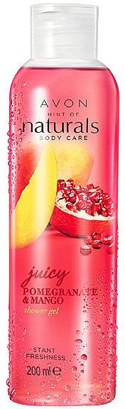 Duschgel Granatapfel & Mango - Avon Naturals Shower Gel — Bild N1