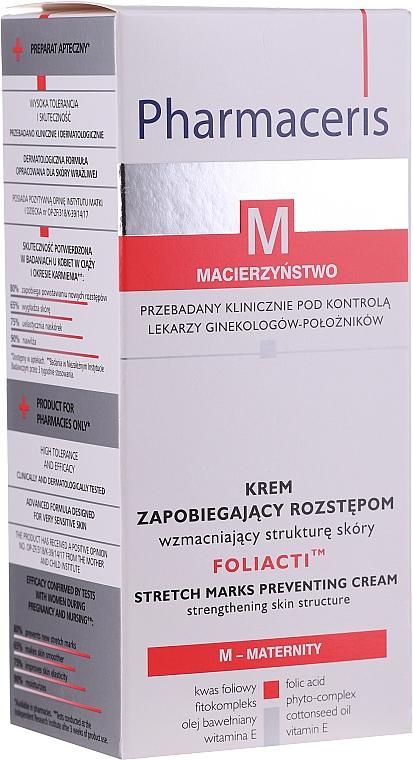 Körpercreme gegen Dehnungsstreifen - Pharmaceris M Foliacti Stretch Mark Prevention Cream