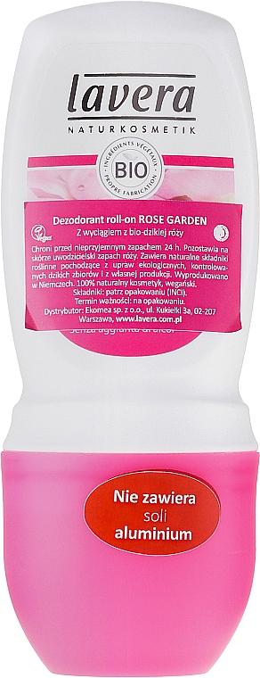 Deo Roll-on Antitranspirant Rose Garden - Lavera 24h Deo Roll-On — Bild N1