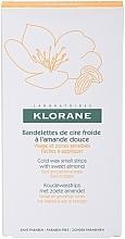 Düfte, Parfümerie und Kosmetik Enthaarungswachsstreifen für das Gesicht und empfindliche Zonen - Klorane Hygiene et Soins du Corps