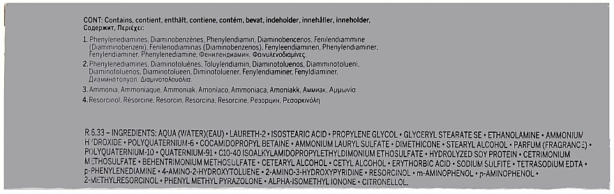 Creme-Gel-Haarfarbe mit Hyaluronsäure und Sojaprotein - Revlon Professional Revlonissimo Color & Care Technology XL150 — Bild N6