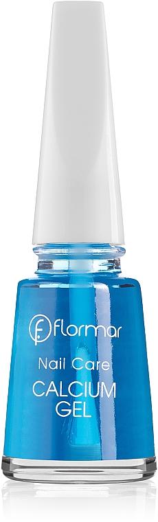 Kalzium-Aufbaukur für brüchige und empfindliche Nägel - Flormar Nail Care Calcium Gel