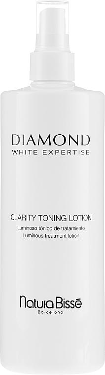 Reinigendes aufhellendes Gesichtswasser - Natura Bisse Diamond White Clarity Toning Lotion