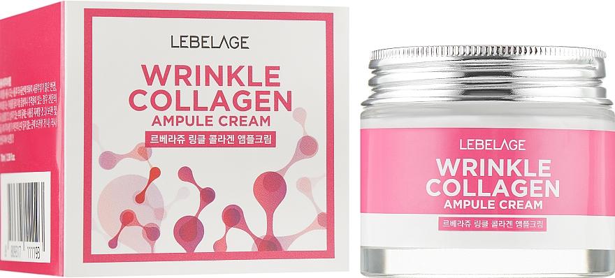 Anti-Falten Gesichtscreme mit Kollagen - Lebelage Wrinkle Collagen Ampule Cream