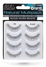 Düfte, Parfümerie und Kosmetik Künstliche Wimpern - Ardell Natural Multipack Black 110