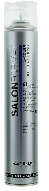 Haarspray Extra starker Halt - Brelil Salon Format Lacquer XX Extra Strong