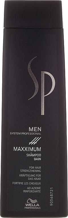 Kräftigendes und stimulierendes Shampoo für Männer - Wella SP Men Maxximum Shampoo