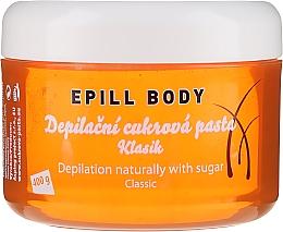 Düfte, Parfümerie und Kosmetik Enthaarungspaste mit Zucker - Epill Body Depilation Naturally With Sugar Classic