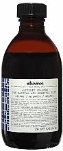 Düfte, Parfümerie und Kosmetik Alchemic Silber Shampoo für natürliches und gefärbtes Haar - Davines Alchemic Shampoo