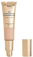 Düfte, Parfümerie und Kosmetik Feuchtigkeitsspendende CC Foundation LSF 30 - Revolution Pro CC Cream Perfecting Foundation SPF 30