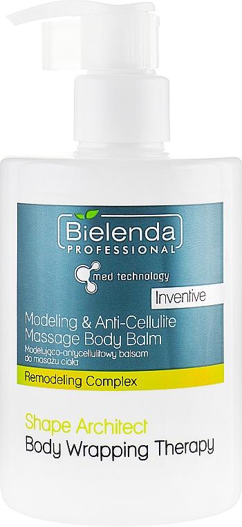 Anti-Cellulite-Körperbalsam - Bielenda Professional Med Technology Massage Body Balm — Bild N1