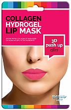 Düfte, Parfümerie und Kosmetik Kollagen-Hydrogel-Lippenmaske mit Push-up-Effekt - Beauty Face 3D Push-Up Collagen Hydrogel Lip Mask