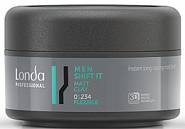 Düfte, Parfümerie und Kosmetik Mattierender Modellierkitt Flexibler Halt - Londa Professional Men Shift It Matt Clay