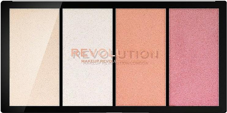 Highlighter-Palette - Makeup Revolution Re-Loaded