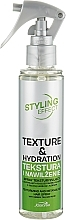 Düfte, Parfümerie und Kosmetik Texturierendes und entwirrendes Haarspray mit grünem Tee und Aloe - Joanna Styling Effect Texture And Hydration Hair Spray