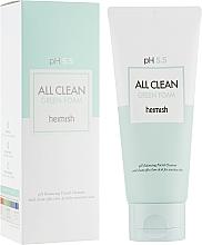 Düfte, Parfümerie und Kosmetik Gesichtsreinigungsschaum für empfindliche Haut - Heimish All Clean Green Foam pH 5.5