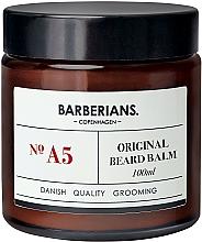 Düfte, Parfümerie und Kosmetik Pflegender Bartbalsam mit Sanddornextrakt - Barberians. №A5 Beard Balm