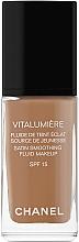 Düfte, Parfümerie und Kosmetik Sanfte Foundation für ein strahlendes Aussehen LSF 15 - Chanel Vitalumiere Fluide De Teint Eclat SPF 15