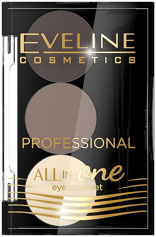 Augenbrauen-Make-up-Palette - Eveline Cosmetics All In One Eyebrow Styling Set