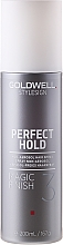 Düfte, Parfümerie und Kosmetik Aerosolfreies Haarspray - Goldwell StyleSign Perfect Hold Magic Finish N.A.