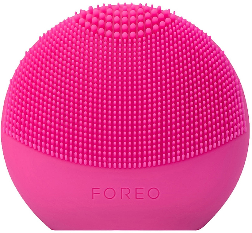 Reinigende Smart-Massagebürste für das Gesicht Luna Mini 3 Fuchsia - Foreo Luna Fofo Smart Facial Cleansing Brush Fuchsia