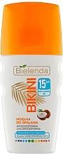 Düfte, Parfümerie und Kosmetik Kokosnussspray zum Sonnenbad SPF 15 - Bielenda Bikini Tanning Mist SPF 15