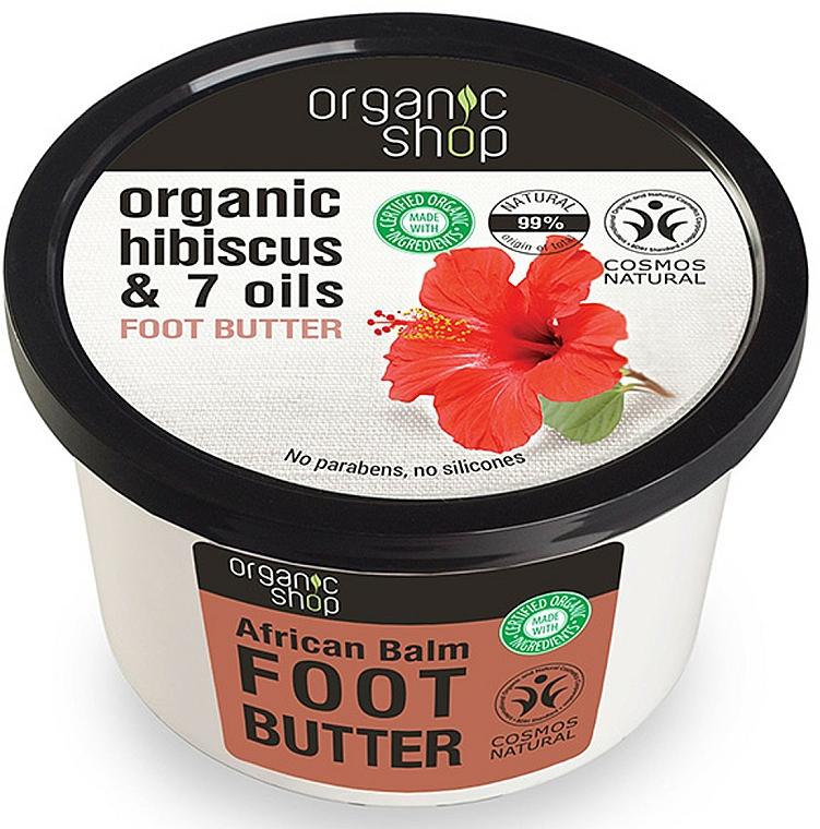 Fußbutter mit Bio Rooibos und 7 Ölen - Organic Shop Organic Rooibos & 7 Oils Foot Butter