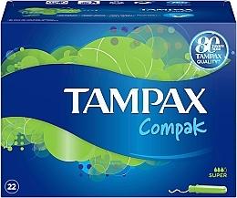 Düfte, Parfümerie und Kosmetik Tampons mit Applikator 22 St. - Tampax Compak Super