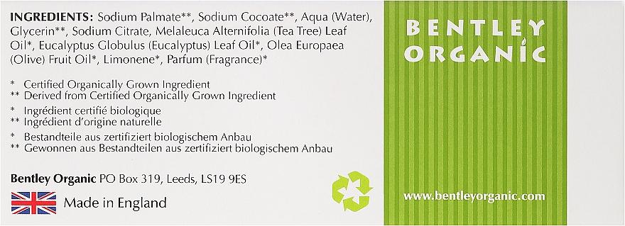 Tiefenreinigende Seife mit Olive, Teebaum und Eukalyptus - Bentley Organic Body Care Deep Cleansing Soap Bar — Bild N3